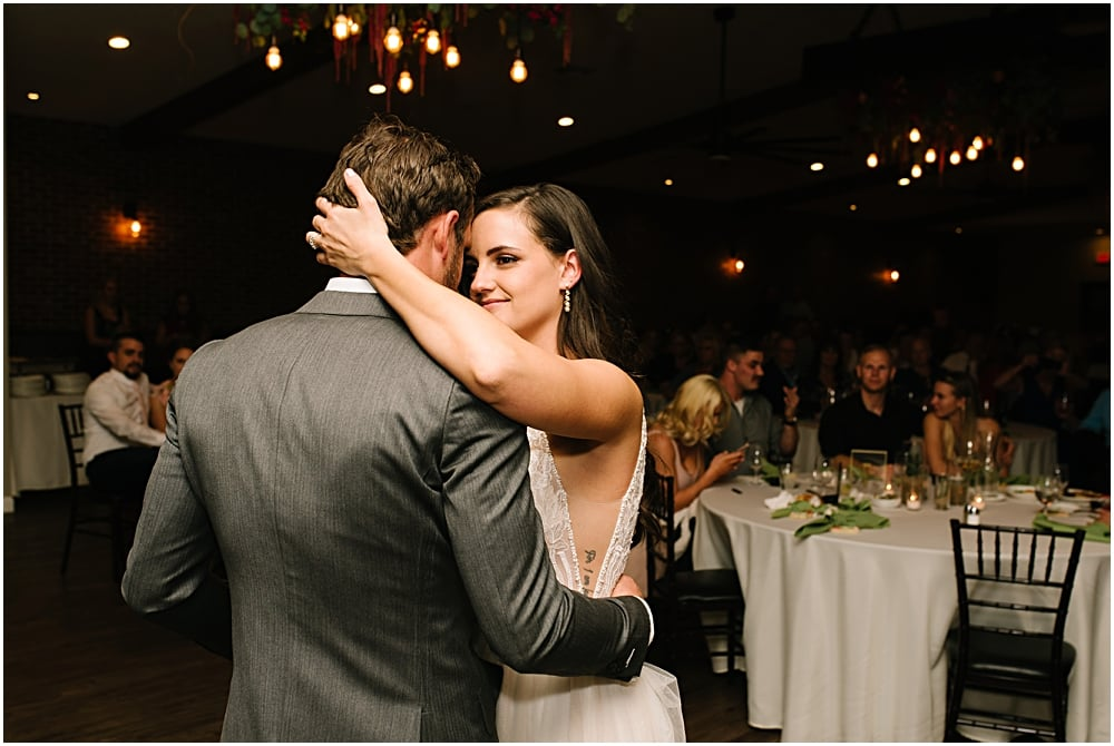 couple dancing at their wedding - captured by wedding photographer